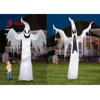 Wholesale Free Shipping Inflatable Holiday Hallow mas Decoration Ghost On Yard With Led Light from china suppliers