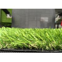 Wholesale Diamond Yarn 35mm Indoor Artificial Grass , Artificial Green Grass Mats from china suppliers