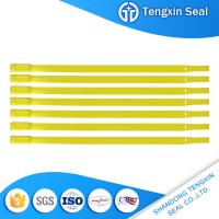 Wholesale TX-PS406 Factory outlets plastic security seals with logo mark in lable from china suppliers
