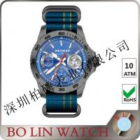 Wholesale Nato Strap Carbon Case Watch , Sub - Dials Chrono Timing Limited Edition Watches from china suppliers
