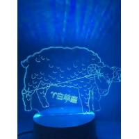 Wholesale 2016 New Creative Product Constellation 3D Table Night Light Led Lamp for Meaningful Gifts from china suppliers