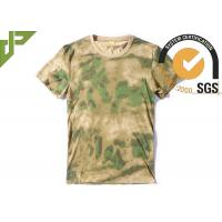 Wholesale Short Sleeve Multicam Tactical T Shirts 100% Cotton Breathable For Men from china suppliers