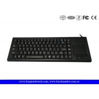 Wholesale 87 Keys Plastic Industrial Keyboard with Optical Touchpad , USB or PS / 2 from china suppliers