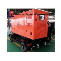 Wholesale Water Cooled 100kVA Diesel Trailer Generator Cummins Engine With Soundproof Canopy from china suppliers