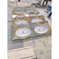Wholesale 2.7g/Cm3 Onyx Stone Slabs Onyx Vanity Tops Commercial And Residential Construction from china suppliers