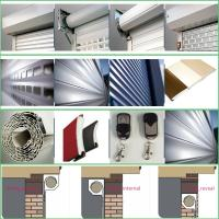 Quality Aluminum Electrical Roller Shutter Garage Door for sale