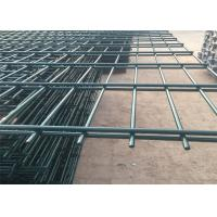 China Powder Coated Welded Wire Mesh Security Fence on sale