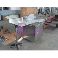 Wholesale Semi Automatic Rotary Bottle Sorting Machine For Milk Glass Bottle 0.37Kw from china suppliers
