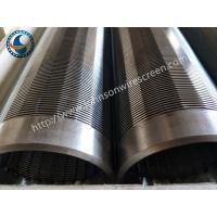 Wholesale 304 Water Well Screen Pipe , Johnson Wound Screen Convenient Operation from china suppliers