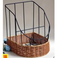 Wholesale 2016 Hot sale Plastic Rattan Bake Basket,  bottom size 35.5X30,X20/40CM from china suppliers