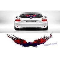 Wholesale Personalized EL Car Sticker Equalizer 50x25cm , Music Rhythm Eagle LED Flash Light Lamp from china suppliers