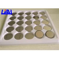 Quality High Capacity Cr2016 3v Lithium Battery , Standard  CR2016 Coin Cell Battery for sale