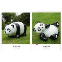 Polyresin Panda Garden Decoration  recycling materials