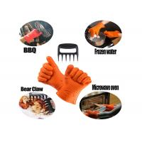 Wholesale Grilling BBQ Silicone Gloves and Bear Meat Claws For kitchen and outdoor from china suppliers