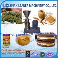 Wholesale 304ss peanut butter making machine collid granding machine from china suppliers