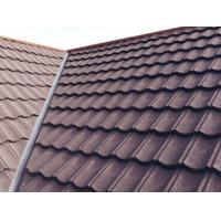 Wholesale WaterProof Classical Metal Roofing Tiles , stone coated roofing sheets for house from china suppliers
