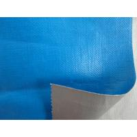 Wholesale blue /silver laminated heavy duty pe tarpaulin fabric from china suppliers