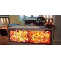 Wholesale Backlit Red Agate Inlayed Panel for Reception Counter from china suppliers