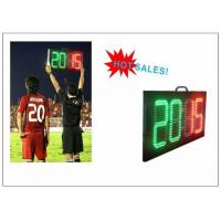 Wholesale Digital Number 2 Color LED Soccer Substitution Board 2 Side IP62 Light Weight from china suppliers