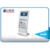 Wholesale White 32 Inch Digital Advertising Kiosk Stand , Touch Screen Kiosk For Restaurant from china suppliers