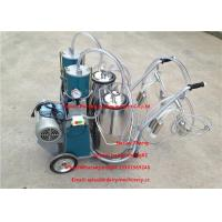 Quality Automatic Milking Piston Cow Mobile Milking Machine For Two Cows Milking for sale