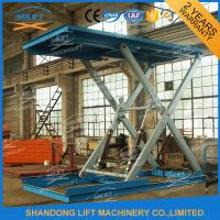 Buy cheap 3T 3m Heavy Duty Hydraulic Scissor Car Lift with CE from wholesalers