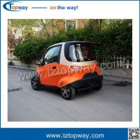 Steering wheel with air conditioner Mini Electric Vehicle car rickshaw for adult