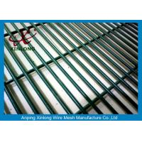 Wholesale 4.0mm Low Carbon Iron Wire PVC Coated 358 Security Fence For Prison from china suppliers