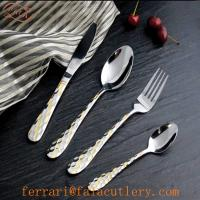 Wholesale New Art Deco Sand Blast Best Hotel World Tableware Supplier from china suppliers