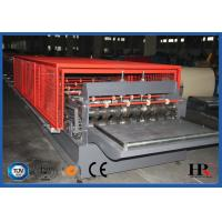 Quality Floor Deck Plate Cold Roll Forming Machine Plc Control Professional for sale
