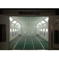 Quality 6.9m Waterborne System Auto Paint Booth Infrared Heating High Efficiency For Garage Usage for sale