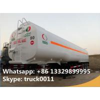 Wholesale 42000L diesel gasoline fuel transport tanker trailer 42m3 tanzania oil tanker semi trailer, CLW triple axles fuel tank t from china suppliers