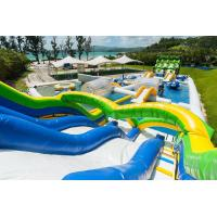 Quality Kids And Adults Inflatable Water Park EN15649 Standard 0.9 Mm Pvc Tarpaulin for sale