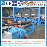 Wholesale MCLW11-8*2000 Mechanical three roller plate bending/rolling machine export Indonesia from china suppliers