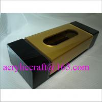 Wholesale Luxury acrylic tissue /  napkin / paper towel box for restaurant and home from china suppliers