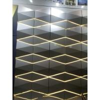 Wholesale Light Weight 3D Cladding Panels With Or Without Perforated ACP / Aluminum Composite Panel from china suppliers