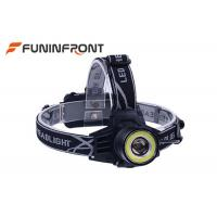 Wholesale 4 Gears CREE T6 and COB Light Outdoor LED Headlamp,Zoom Focus Headlight from china suppliers