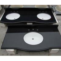 Wholesale Top Quality Black Granite tops,Polished Absolute Black Granite,Black China Granite Tile from china suppliers