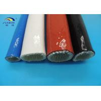 Wholesale Heat-resistant Silicon Coated Fireproof Performance Glass Fabric Sleeve Eco-friendly from china suppliers