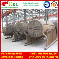 Quality SA213T11 10 Ton Steel Electric CFB Boiler / Oil Steam Steam Boiler Header 380MW ASTM for sale