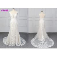 Wholesale White Color Lace Wedding Womens Ball Gowns Fashionable Bridal Dress Eco from china suppliers