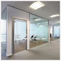 Wholesale 12mm Clear Glass Frosted Tempered/Toughened Glass Partition Window Wall from china suppliers