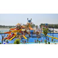 Wholesale Sea Style Water Playground Equipment Fiberglass Water Slides For Amusement Park from china suppliers