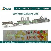 Wholesale Automatic 3d& 2d Snack Crispy Chips/screw/shell/extruded Pellet Machine/fried Pellets Extruder Machine from china suppliers