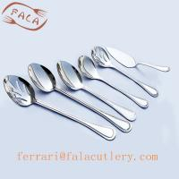 Wholesale Cheap Cooking Stirring Tasting Round Soup Spoons Cake Shovel from china suppliers