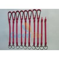 Wholesale Customized Size and Red Color 4'' to 40'' Multi-purpose Utilities Plier Coiled Lanyards from china suppliers