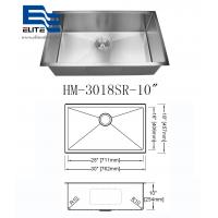 Quality 304 Stainless Steel Undermount Sink Single Bowl for sale