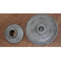 Wholesale Wheel carbon steel sand casting parts zinc plating by cut and grind gate from china suppliers