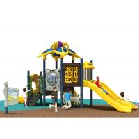 Wholesale Space Theme Preschool Playground Equipment Anti - Fade Outdoor Fun For Kindergarten Use from china suppliers