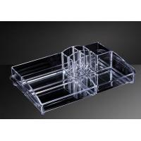 Wholesale OEM Custom Acrylic Products , Hot Bending Acrylic Cosmetic Display Stand from china suppliers